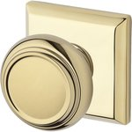 Baldwin HD.TRA.TSR Reserve Traditional Single Dummy Knob with Traditional Square Rosette