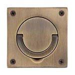 Baldwin 0397 3-1/2 Inch x 3-1/2 Inch Flush Ring Pull