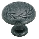 "Amerock BP1581WID Wrought Iron Dark 1 1/4"" Knob from the Inspirations Collection product"