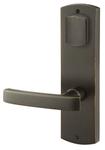 Emtek 7571 5-1/2 Inch Center to Center Sandcast Bronze Missoula Sideplate Double Cylinder product