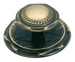 "Amerock BP778AE Antique Brass 2"" Knob from the Allison Collection"
