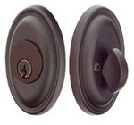 Emtek 8473 #14 Lost Wax Cast Bronze Single Cylinder Deadbolt