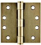 Emtek 92014 4 Inch x 4 Inch Heavy Duty Steel Plated Hinge with Square Corners (Sold in Pairs) product