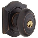 Baldwin 5238.ENTR Estate Bethpage Keyed Entry Knobset with Emergency Exit Function for 2-1/4 Inch Thick Doors