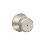 Schlage F40BWE Bowery Privacy Knobset
