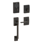 Schlage FE375 CEN/LAT RH Century Touch Screen Handleset with Latitude Lever for Right Handed Doors