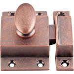 """Top Knobs M1782 Cabinet Latch 2"""" - Antique Copper  from the Additions Collection"""