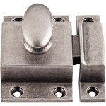 """Top Knobs M1786 Cabinet Latch 2"""" - Pewter Antique  from the Additions Collection"""