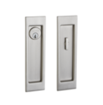 Baldwin PD005.ENTR Large Santa Monica Keyed Pocket Door Mortise Lock product