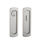 Baldwin PD007.ENTR Palo Alto Keyed Pocket Door Mortise Lock