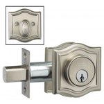 Omnia ARCHDBA Arched Auxiliary Deadbolt From the Prodigy Collection