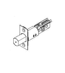 Omnia 045.DB.00 2-3/8 Inch Backset Deadbolt Latch for Prodigy Deadbolts