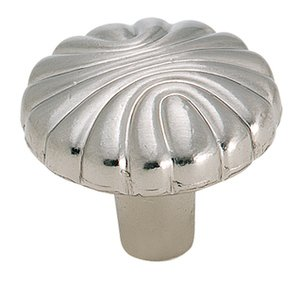 """Amerock BP1337G9 Sterling Nickel 1 7/32"""" Knob from the Natural Elegance Collection"""