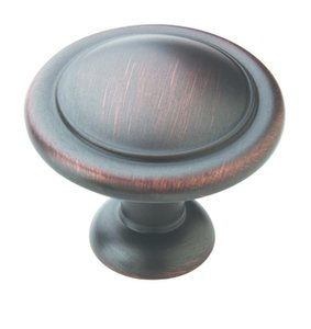 "Amerock BP1387ORB Oil-Rubbed Bronze 1 1/4"" Knob from the Reflections Collection"