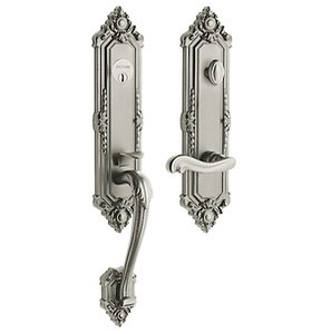 Baldwin 6426.RENT Estate Kensington Single Cylinder Handleset for Right Handed Doors