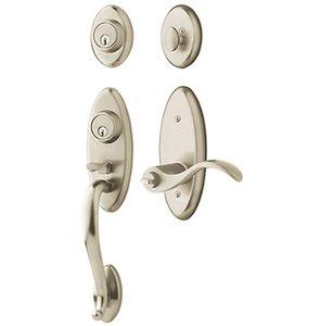 Baldwin 85345.2RH Estate Landon Single Cylinder Two Point Handleset for Right Handed Doors