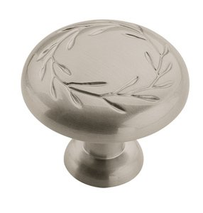 "Amerock BP1581G10 Satin Nickel 1 1/4"" Knob from the Inspirations Collection"