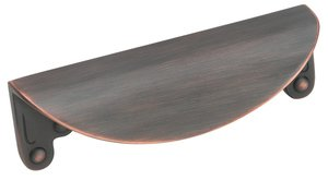 """Amerock BP1592ORB Oil-Rubbed Bronze 3"""" Cup Pull from the Inspirations Collection"""