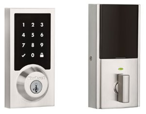 Kwikset 916CNTZW Contemporary SmartCode Electronic Deadbolt with Z-Wave Technology