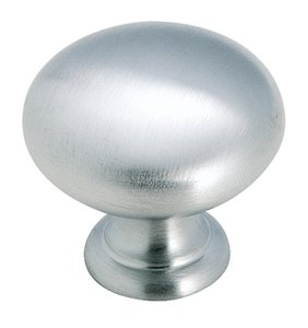 "Amerock BP1950H26D Brushed Chrome 1 1/4"" Knob from the Allison Collection"