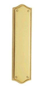 Baldwin 2285 2-3/4 Inch x 10-7/8 Inch Bristol Push Plate