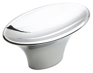 """Amerock BP2612926 Polished Chrome 2"""" Knob from the Sleek Collection"""