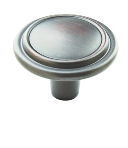 "Amerock BP29113ORB Oil-Rubbed Bronze 1 1/4"" Knob from the Allison Collection"