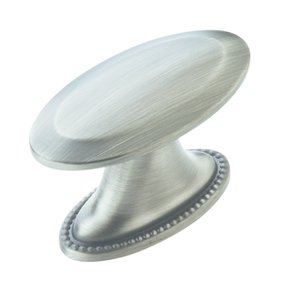 """Amerock BP29280AS Antique Silver 1 1/2"""" Oversized Knob from the Atherly Collection"""