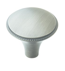 """Amerock BP29310AS Antique Silver 1 3/16"""" Knob from the Atherly Collection"""