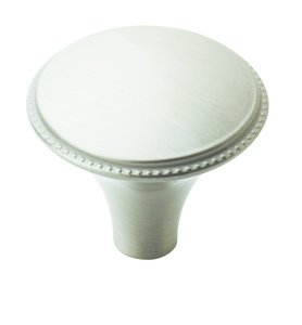"Amerock BP29310G10 Satin Nickel 1 3/16"" Knob from the Atherly Collection"