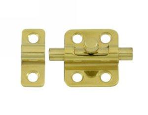 Deltana 2BBU 2 Inch Solid Brass Barrel Bolt