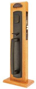 Emtek 3330 Longmont Full Length Single Cylinder Mortise Handleset