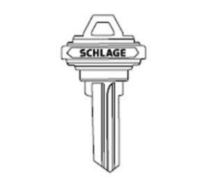 Schlage 35-101C 6 Pin C-Keyway Key Blank