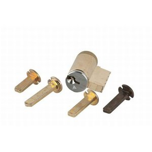 """Schlage 40-100 C123 Cylinder with Multiple Tailpieces with Everest """"C123"""" Keyway"""