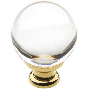 Baldwin 4302 1-2/5 Inch Diameter Crystal Cabinet Knob