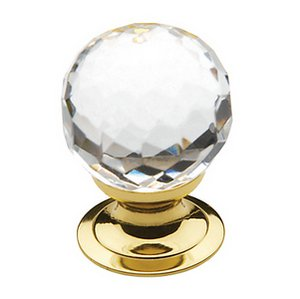 Baldwin 4318 1-1/5 Inch Diameter Crystal Cabinet Knob