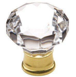 Baldwin 4324 1-2/5 Inch Diameter Crystal Cabinet Knob