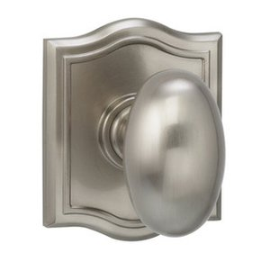 Omnia 434ARSD Single Dummy Knob with Arched Rosette From the Prodigy Collection