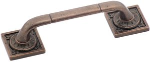 """Amerock BP4482RBZ Rustic Bronze 3-3/4"""" Pull from the Ambrosia Collection"""