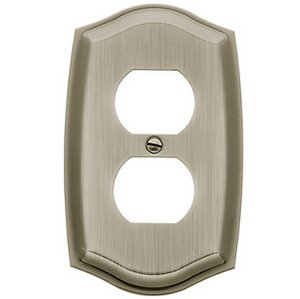 Baldwin 4757 Colonial Duplex Switch Plate