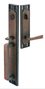 Emtek 4822 Arts and Crafts Full Length Double Cylinder Handleset