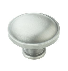 "Amerock BP53015AS Antique Silver 1 1/4"" Knob from the Allison Collection"