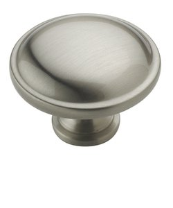 "Amerock BP53015G10 Satin Nickel 1 1/4"" Knob from the Allison Collection"