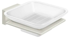 Deltana 55D2012 Frosted Glass Soap Dish 55D