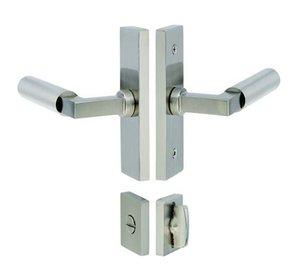 Emtek 5607 1-1/2 Inch x 5 Inch Stretto Narrow Trim Privacy Set