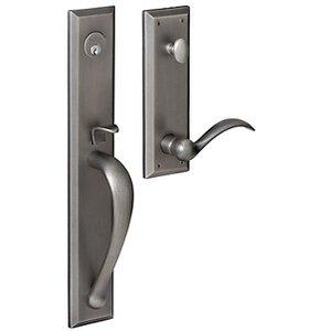 Baldwin M504.LFD Estate Cody Full Escutcheon Dummy Handleset for Left Handed Doors