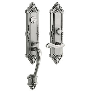 Baldwin 6526.RDBL Estate Kensington Double Cylinder Mortise Handleset for Right Handed Doors