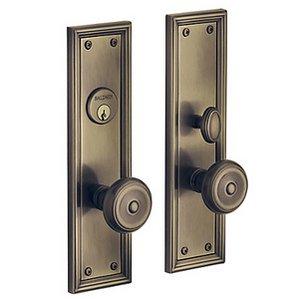 Baldwin 6547.DBLC Estate Nashville Double Cylinder Mortise Entry Set