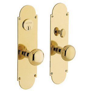 Baldwin 6555.ENTR Estate Boston Single Cylinder Mortise Entry Set