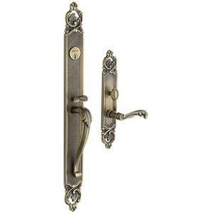 Baldwin 6948.LFD Estate Victoria Full Dummy Handleset for Left Handed Doors